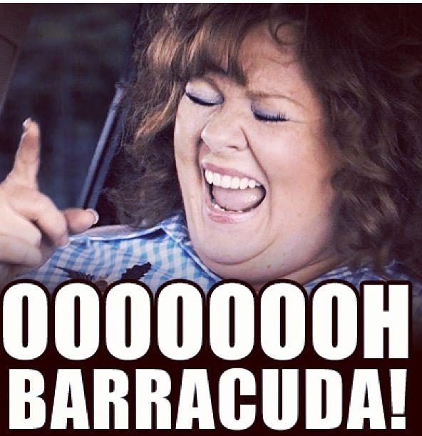 Ooooohhhhhh barracuda! I do believe there is a 'Melissa McCarthy' inside of me...oh yea!