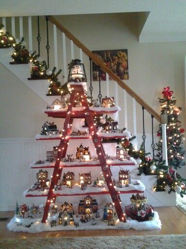 Best 25 Christmas Village Display Ideas On Pinterest