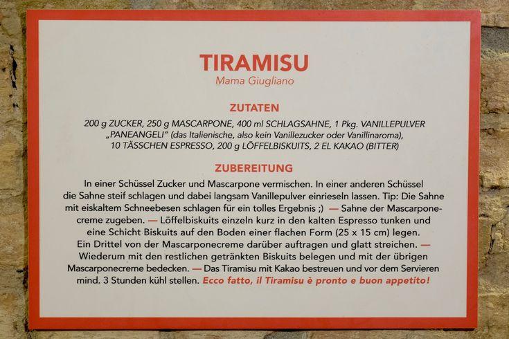 AboutFuel, Berlin, Pizza Nostra, Tiramisu