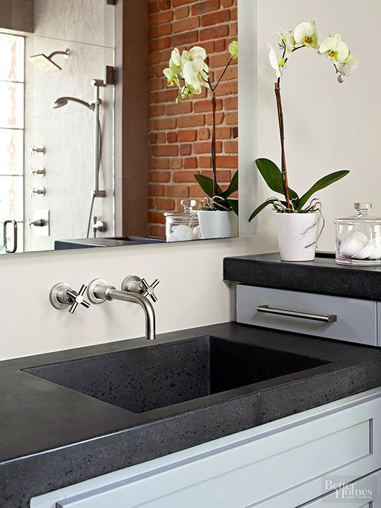 A Guide To Concrete Kitchen Countertops Remodeling 101: 7239 Best Makeover Ideas Images On Pinterest