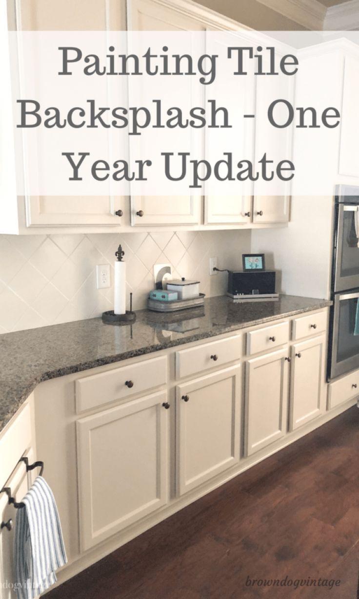 Painted Kitchen Tile Backsplash – Wie hält es aus?