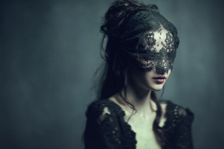 I'm trying to come up with unique holidays/traditions to incorporate into my story world that are different than ours. For funerals I think everyone should wear a black see through fabric over their eyes (as pictured) to symbolize the lack of clarity in their vision and in contrast to symbolize the newfound clarity of vision for the deceased.