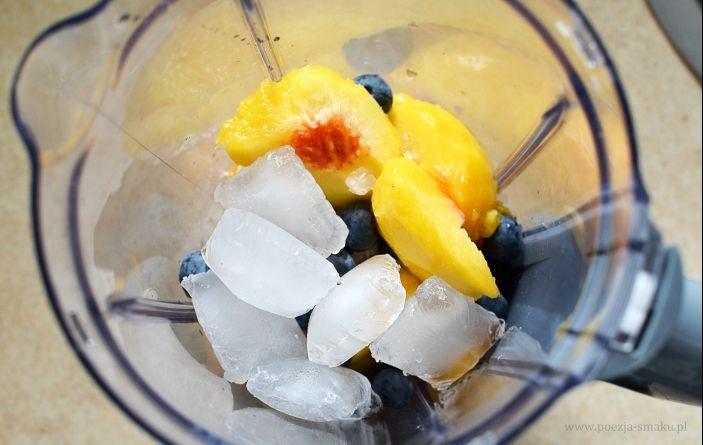 Smoothie brzoskwiniowe bez cukru