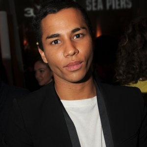 When Hungover, Balmain Designer Is Lovin' It...hehe makes me feel better about eating mickey d's if olivier is doing it!