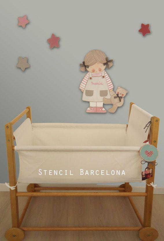 12 best images about siluetas de madera de stencil - Stencil barcelona ...