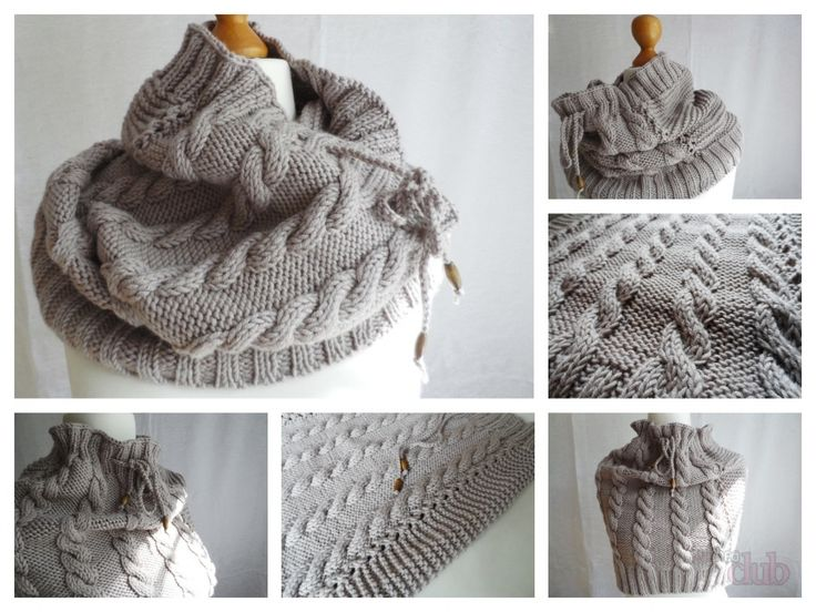 Vite Cowl Knitting Pattern : 125 best images about Moda ai Ferri on Pinterest Cable, Patrones and Ravelry