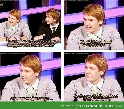 Most awesome twins from Harry Potter