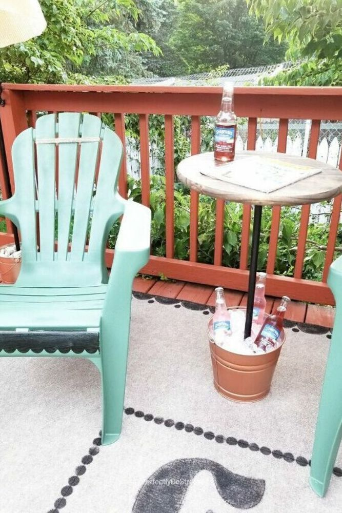 How to Makeover a Patio on a Dime DIY in 2020 | Porch ...