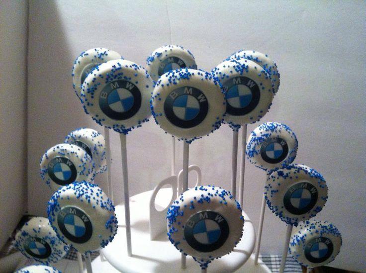 BMW Cake Pops