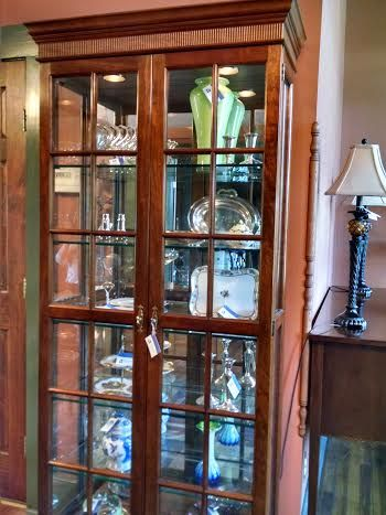 Lovely We Have This Gorgeous Stickley Lighted Display Cabinet From The Early In A  Rich Cherry. Available At Our Showroom In Victor, NY!