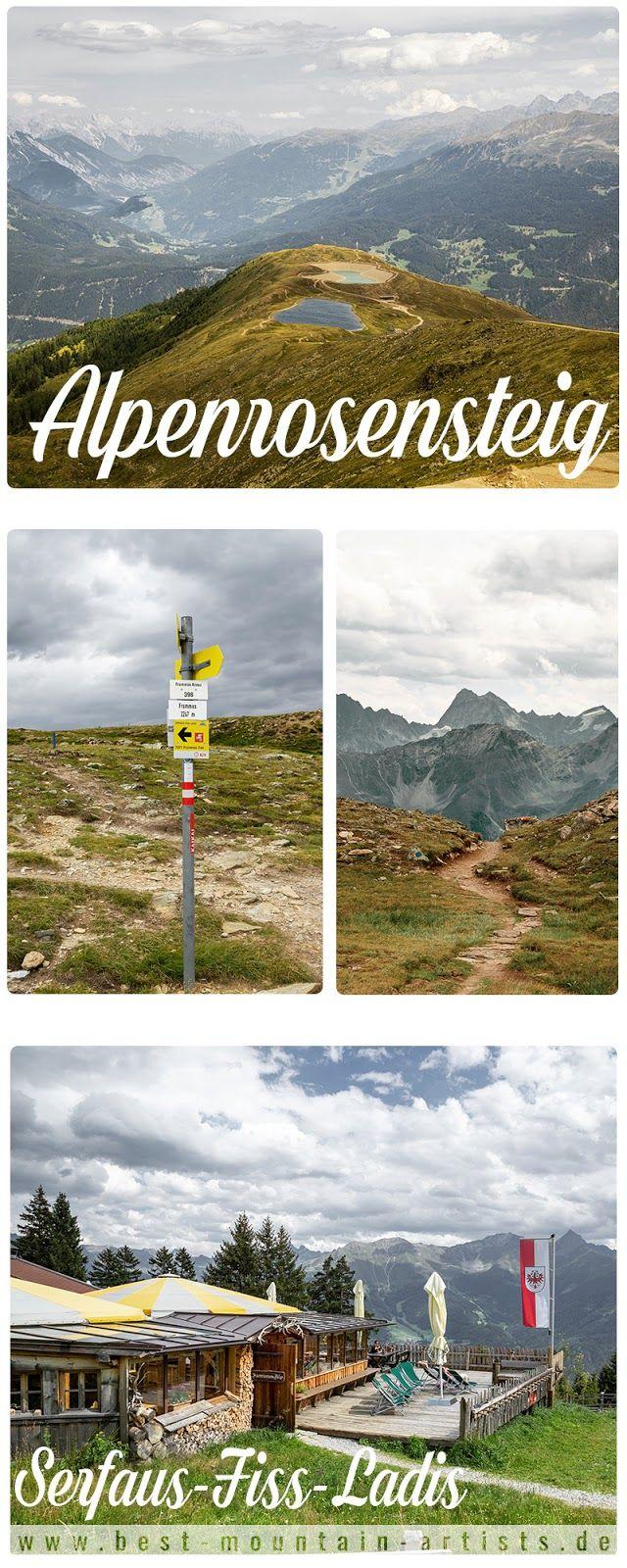Alpenrosensteig vom Fisser Joch nach Fiss | Wanderung Serfaus-Fiss-Ladis | Wandern Tirol Österreich - Hike Tyrol