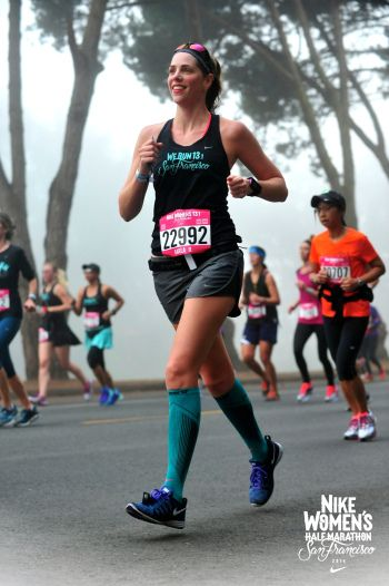 The Nike Women's Half Marathon in San Francisco takes nearly 25,000 runners on a scenic tour of the city by the bay with Tiffany necklaces to boot.