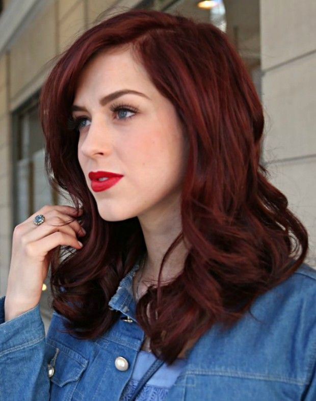CABELOS RUIVOS 2018: Novas Tendências, Dicas e Fotos | CABELOS MARAVILHOSOS | Curly hair styles, Hair, Red hair color