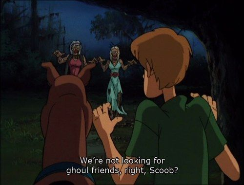 "There's always time for humor. | Community Post: 18 Life Lessons ""Scooby-Doo On Zombie Island"" Taught Us"