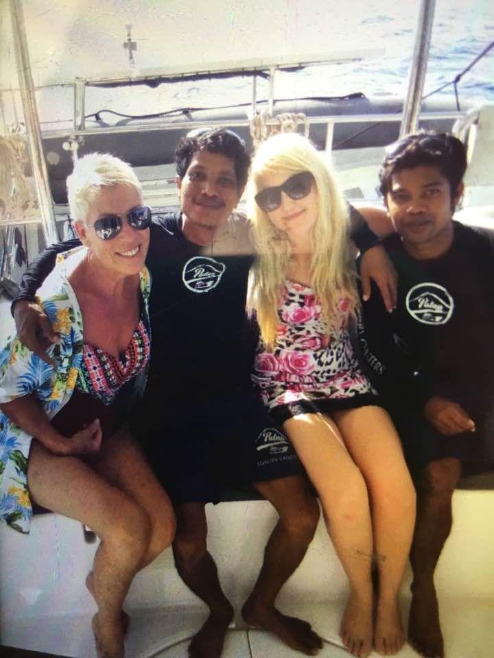 Courtesy of Sandy Valentine-Munn in #facebook. #pulauluxurycharters #jemme #crew #yacht #bali #gili #yachting