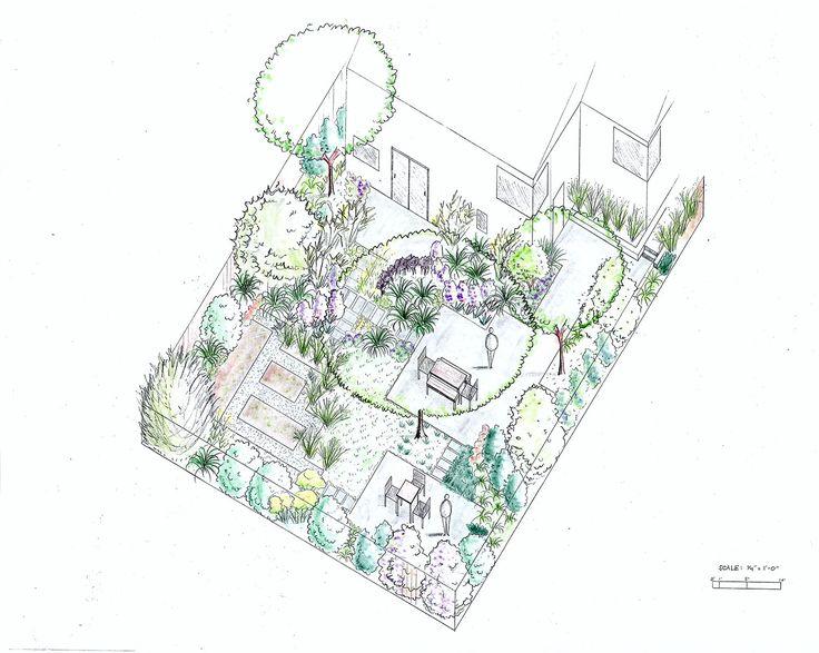 planometric gardens drawings - Google Search