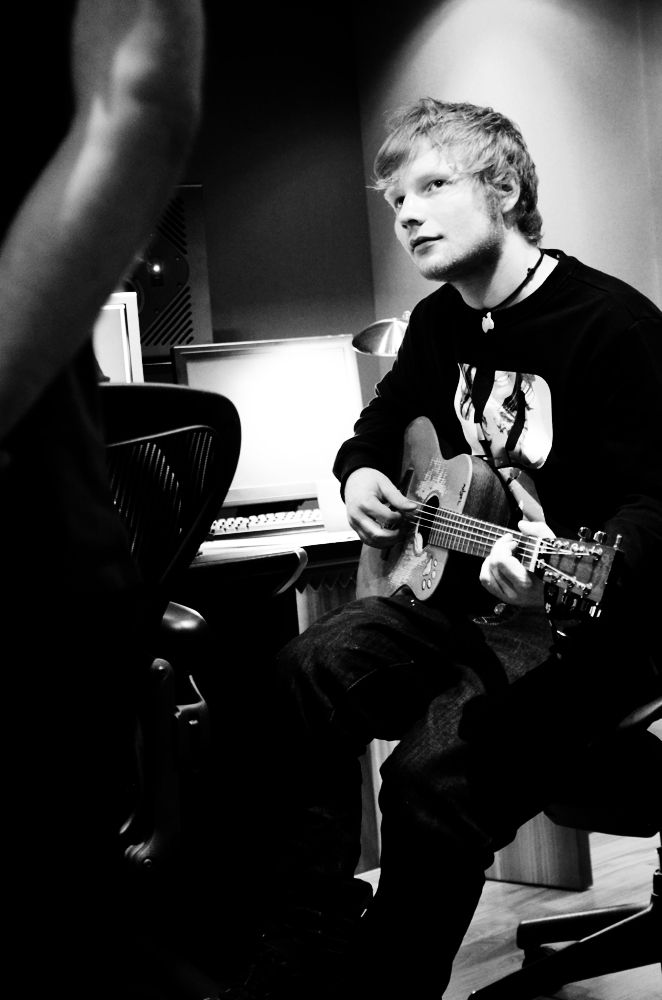 Ed Sheeran London 2012, photo by Andre Harry