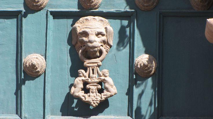 Door knocker, Cusco, Peru
