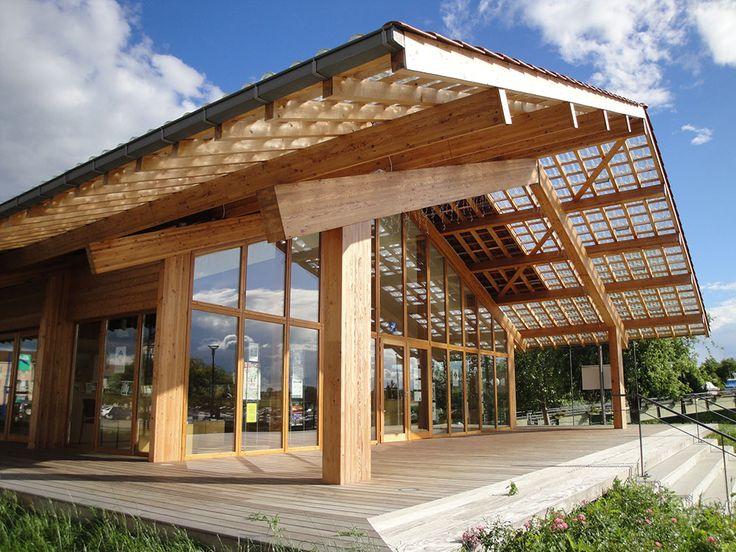 Maison du Tourisme de l'Eau et de la Nature - Saône Seille Charpente