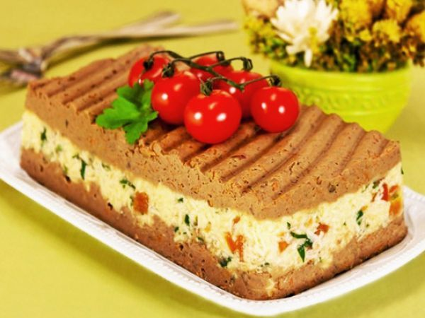 Невероятно вкусный паштет с печёнкой и сыром   Vkusno.co - готовим легко!