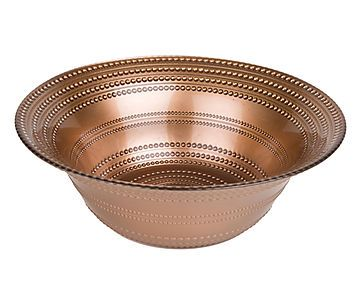 Fruteira Dots - Bronze