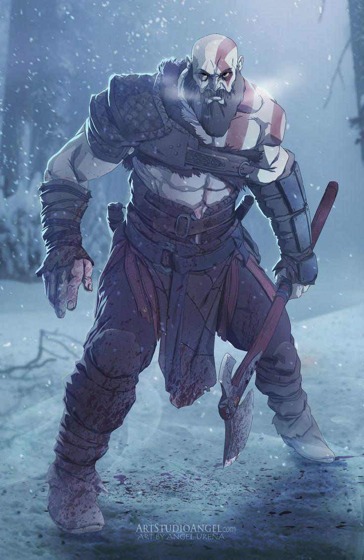 God of War Vikings by ArtStudioAngel