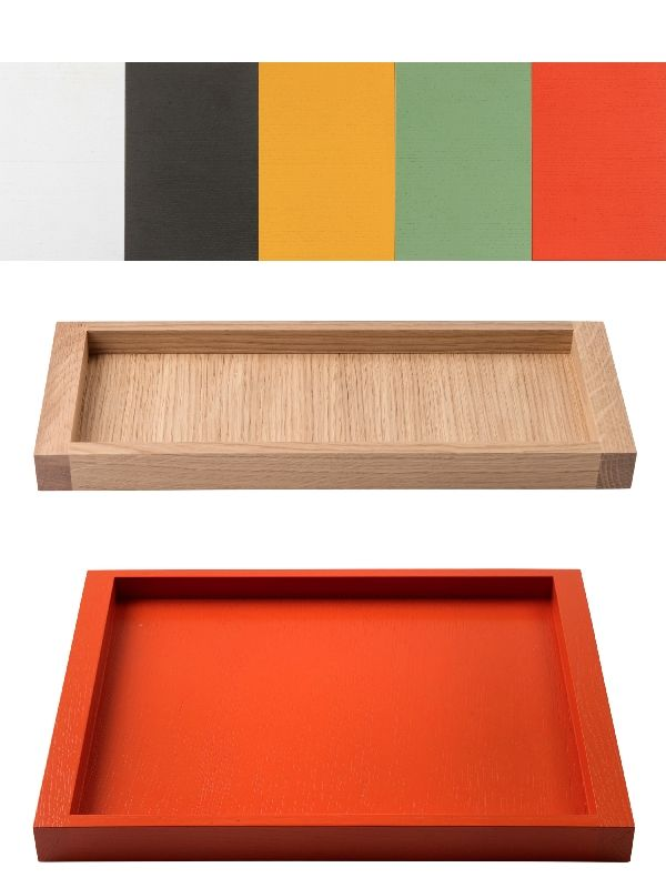 Krobo bench trays