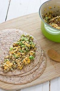 Quinoa Quesadilla Filling