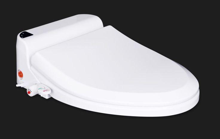 Abattant japonais chauffant Thyia de Toptoilet  -Chauffage du siège à 35 degrés pour un meilleur confort -Lavage à l'eau froide ou chaude (40 degrés) -Raccordement électrique par une prise avec terre et protection intégrée. -LED de contrôle pour les fonctions principales -Double fonction de lavage -Douchettes rétractables -Ajustement de la pression de l'eau -Système de fixation par clips -Esthétique et design #abattantJaponais #WCjaponais #WC #toilettes #salledebain #toilettesjaponais  #TCBD