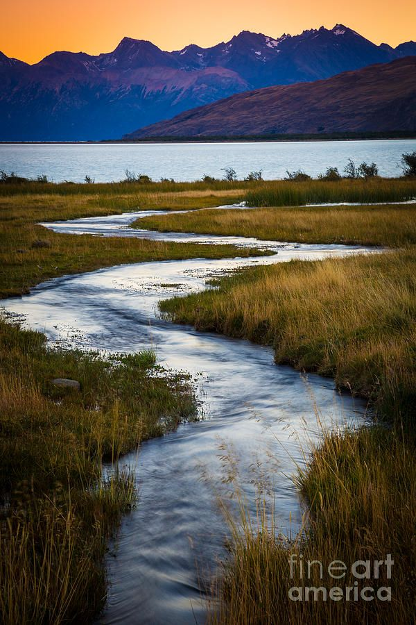 Viedma Creek - Patagonia, Argentina -- by Inge Johnsson