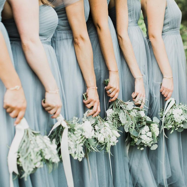Beautiful Jenny Yoo Bridesmaids Wearing Our Annabelle