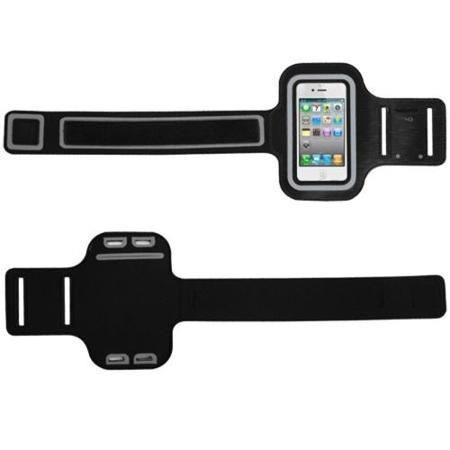 INSTEN Black Sport Armband Running Gym Case Sportband For iPhone 4 4S 5 5S 5C iPod Touch 5
