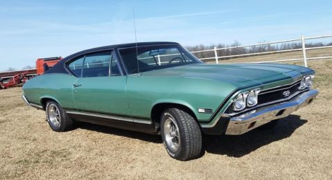 OPGICustomer Chip Hillis's all original '68 Chevelle SS-396 with