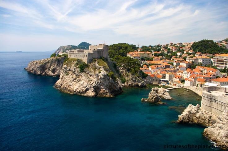 Croatia. A marvellous capture of the Citadel in the Croatian coastal city of Dubrovnik.