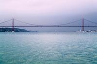 estuario del tajo y puente 25 de abril