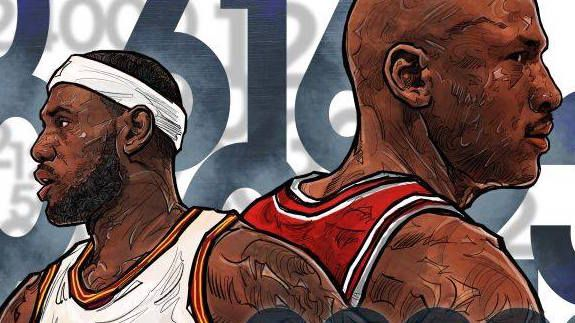 The LeBron James vs Michael Jordan debate is one that will rage on for as long as basketball and statistics exist.
