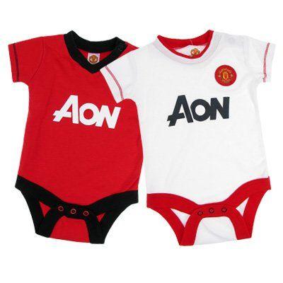 Manchester United Football Club Core Short Sleeve Bodysuit:Buy New: £11.99 - £24.00 [UK & Ireland Only]