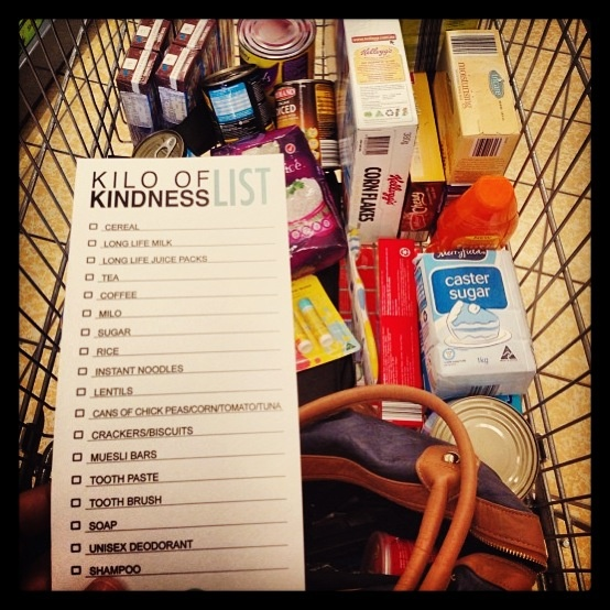 Shopping underway for Kilo of Kindness. Hearts leaning in to make a difference at Easter for families in need. We also partner with asylum seeker and refugee agencies by providing practical food assistance for new arrivals. #crossequalslove
