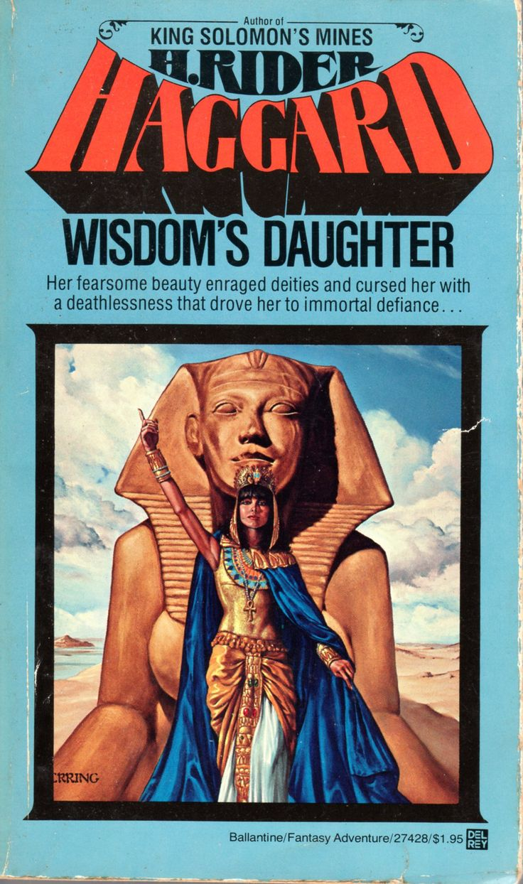 Wisdom's Daughter - H. Rider Haggard, cover by Michael Herring: