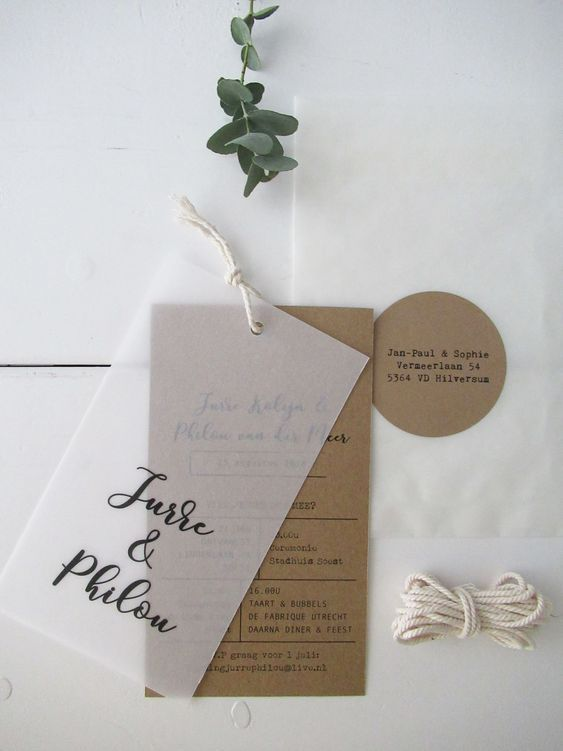where to buy parchment wedding invitations, cardboard, rustic weddings