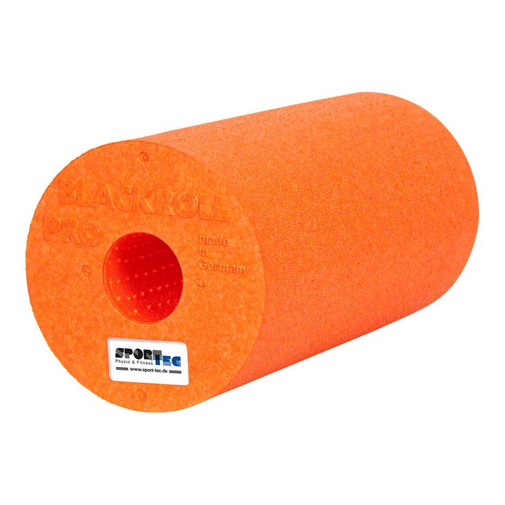 Blackroll Pro (hart), ø 15x30 cm, orange - Sport-Tec.de: Blackroll Shop