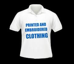 Captions on t-shirts.