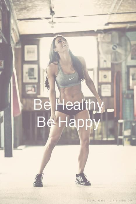 Be healthy and be happy!