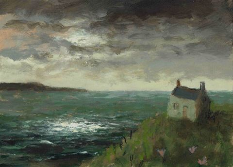 Sage Cottage David Pierce? Artist ..hope I have that right...love this