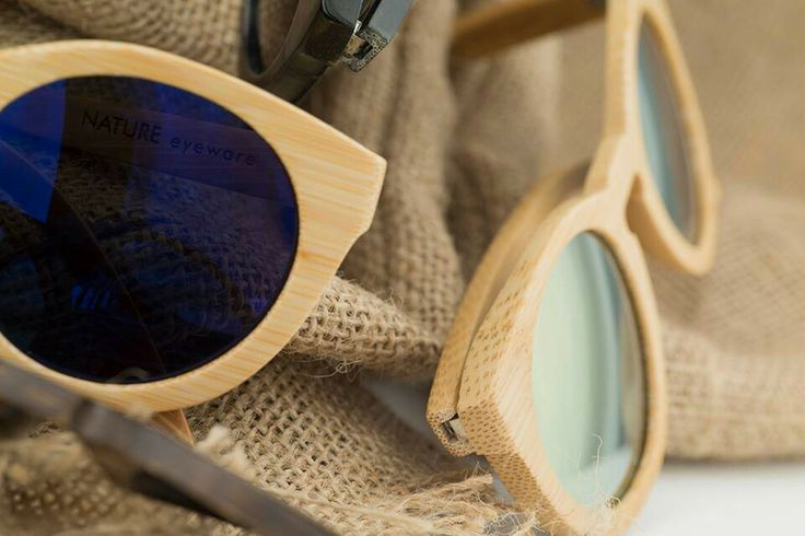 Nature eyeware greek designed wood sunglasses...