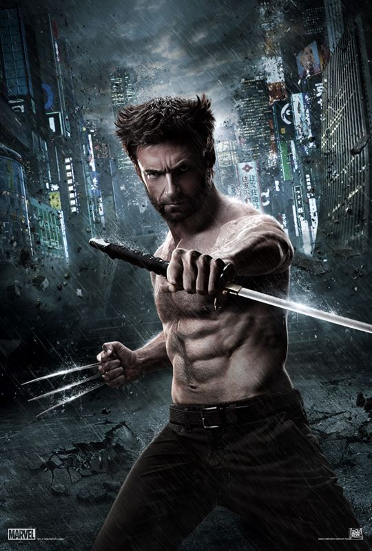 Wolverine - Weg des Kriegers, mit Hugh Jackman. Ab Donnerstag, 25. Juli im Kino. In 3D.