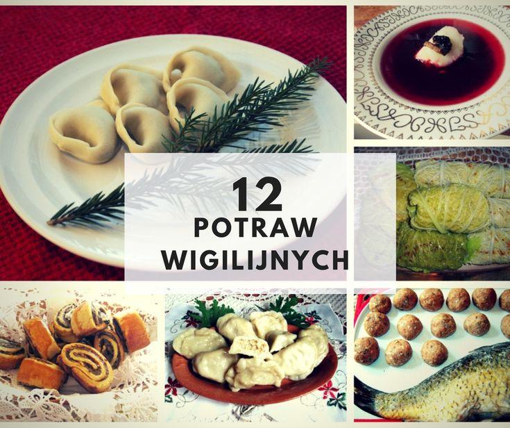 12 potraw wigilijnych