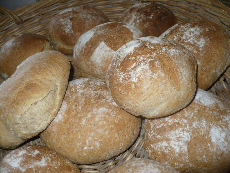 Brood uit de houtoven.
