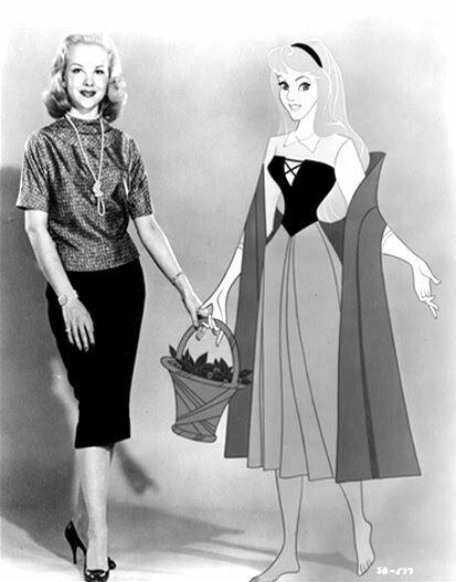 *MARY COSTA voice of PRINCESS AURORA ~ Sleeping Beauty, 1959