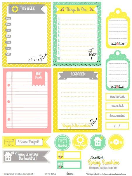27398 best Planner, Journal and Stickers images on Pinterest - free daily planner download